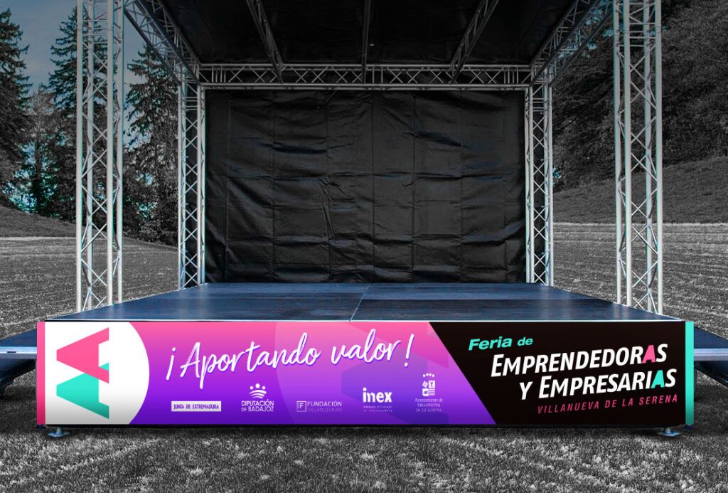 Convención, Feria, Congreso, Presentación... Solicite información sin compromiso sobre el diseño de eventos en Extremadura a Roberto Nieto Diseño.