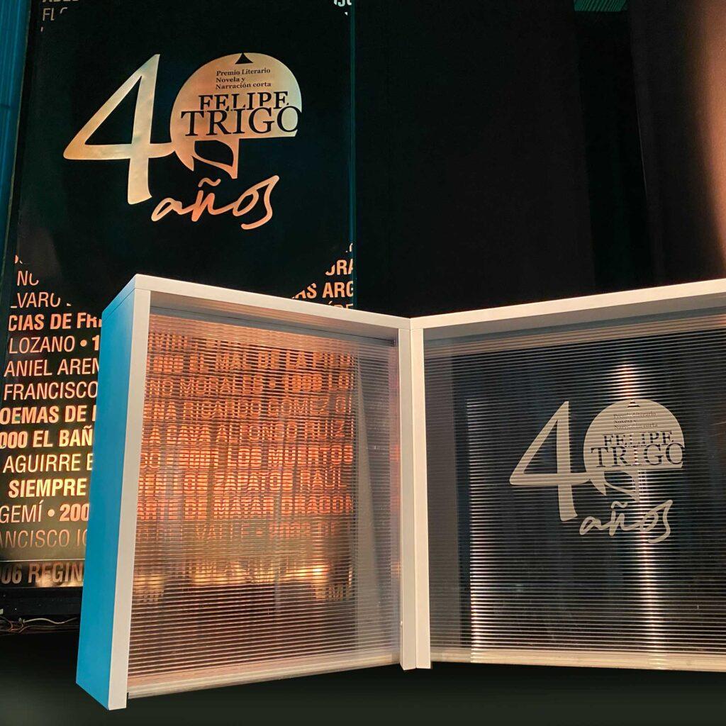 evento empresa premio literario montaje eventos